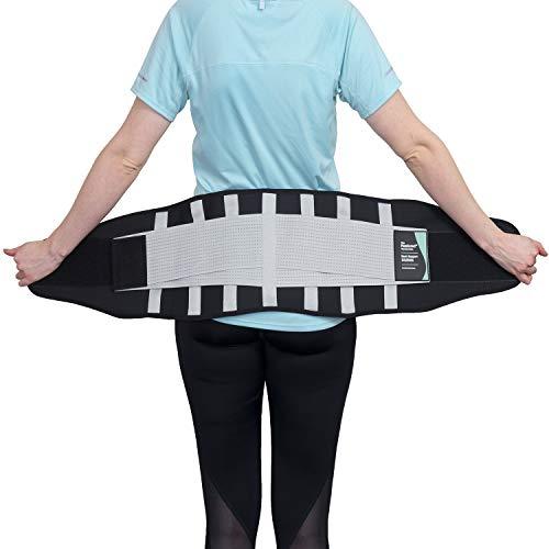 Faja lumbar, la única faja para la espalda certificada por la National Back Pain Association del Reino Unido, alivio de la columna lumbar inferior