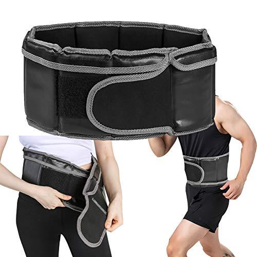 FFLLAS Cinturones de Halterofilia para Hombres y Mujeres, Cinturones de Fitness, Velcro Suave, Transpirable y Potente, Apto para Deportes y Fitness