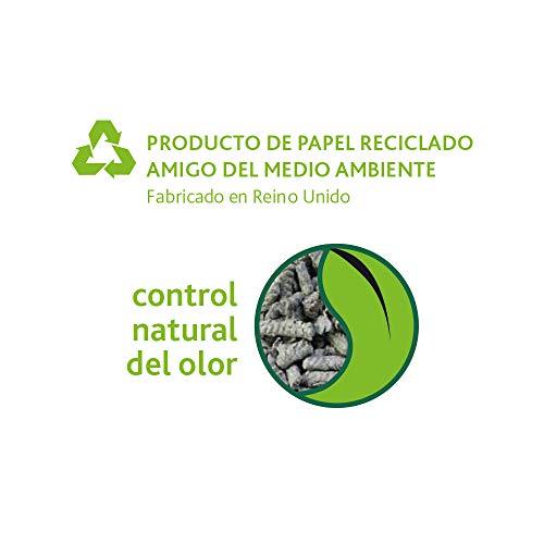 FIBRECYCLE Lecho de Papel Reciclado Back 2 Nature, 30 l, Pequeños Mamíferos