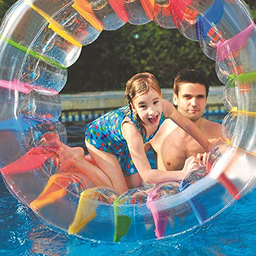 Film Rodillo Inflable Rueda de Rodillo de Juguete Rueda de Rodillo Multifuncional para niños Césped Piscina de césped al Aire Libre