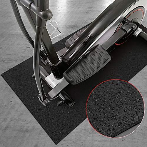 Floordirekt - Esterilla de protección para el Suelo para aparatos de Fitness, Antideslizante, amortigua el Ruido, Caliente, para Cintas de Correr, Entrenador de Rodillo de 91 x 198 cm