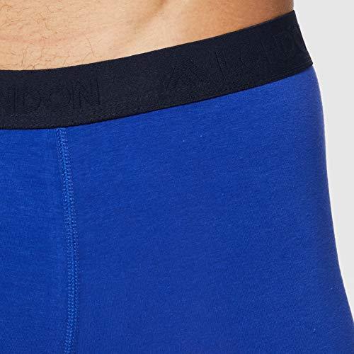 FM London Tagless Bóxer, Azul (Blue), X-Large (Pack de 5) para Hombre