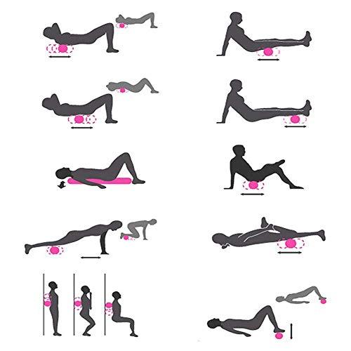 Foam Roller ,Fitness Rodillo DE Espuma,Rodillo de espuma para masaje muscular,Eléctrica Columna de yoga,Masajeador vibrante para Relajar los Múscilos Rodillos Recargable para Yoga, Deportes, Fitness