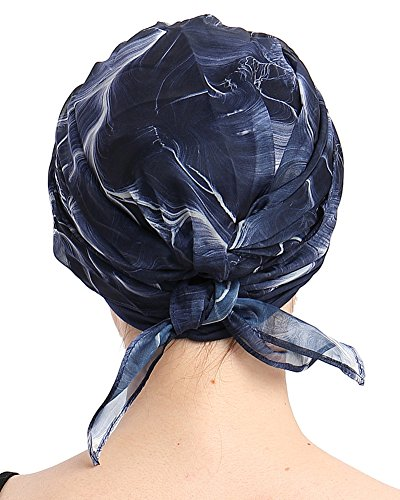 FocusCare Chemo Sombrero Beanie Bufanda Turbante Sombreros para cáncer de bambú Tejido Ligero sin Sudar