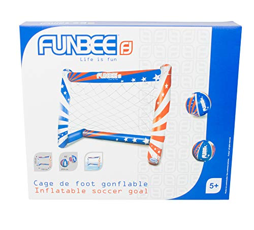 Funbee OFUN319 - Jaula de fútbol Hinchable