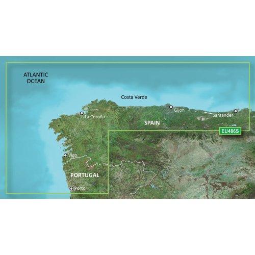 Garmin 010-C0830-00 software de navegacíon - Software de navegación (Galicia & Asturias)