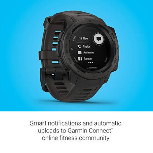 Garmin Instinct - Reloj con GPS, Unisex, Grafito, 1