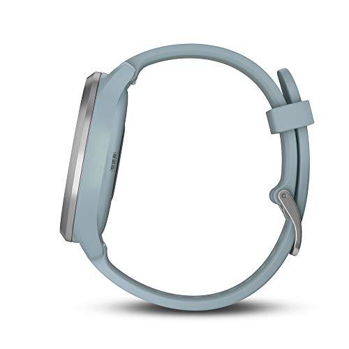 Garmin vívomove HR GPS Mano Ciclismo, Adultos Unisex, Azul claro