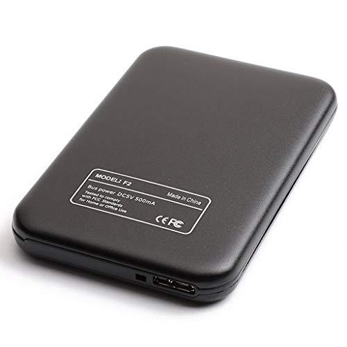 Gazechimp Disco Duro Externo Portátil - 2.5'' USB 3.0 Diseño Metal para Computadora Portátil, Computadora de Escritorio - 1T