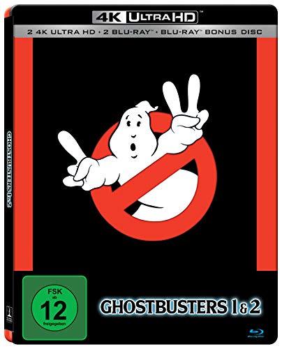 Ghostbusters & Ghostbusters 2 5 Disc Set SteelBook Edition [2 x UHD, 3 x Blu-ray] [Alemania] [Blu-ray]