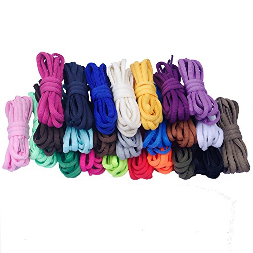 Good.news - Cordones de zapatos , color Azul cielo, talla 140cm