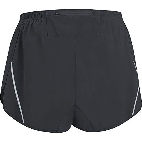 GORE WEAR R5 Pantalón corto de running para hombre, Talla: XL, Color: Negro