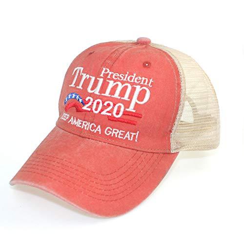 Gorra de béisbol Sombrero de elección Presidencial de EE. UU. Trump Trump Gorra de Malla Lavada