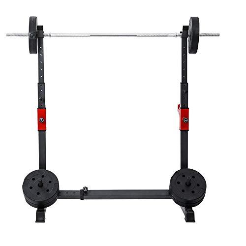 Grist CC Squat Rack Stand Levantamiento De Pesas Rack, Multifuncional Hogar Estante De Barra, Entrenamiento De Fuerza