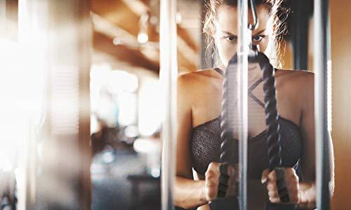 Guantes de Crossfit para Gimnasio con Envoltura de muñeca, Calleras sin Dedos para Musculacion en Gym y Calistenia, Dominadas en Barra, Pesas, Mancuernas, Kettlebell para Mujer y Hombre