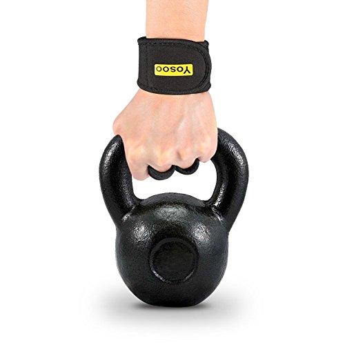 Guantes de Neopreno para crossfit y gimnasio, ideales para tu ejercitación diaria (WOD), dominadas, entrenamiento con pesa rusa y levantamiento de pesas, con protección para evitar callos y antisudor