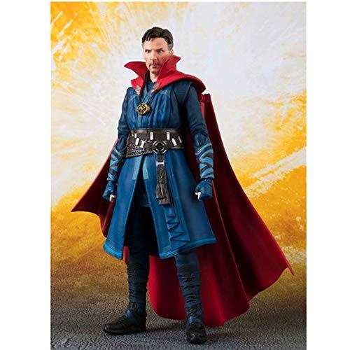 GYZ Double Alliance Avengers 3 Infinite War Singular Dr. Strange Modelo 15cm Juguetes