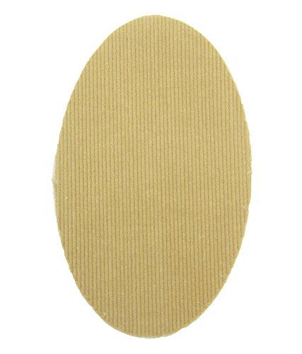 Haberdashery Online 2 rodilleras Pana color Crudo termoadhesivas para planchar. Coderas para proteger tu ropa y reparación de pantalones, chaquetas, jerseys, camisas. 16 x 10 cm. Ref. RPN3