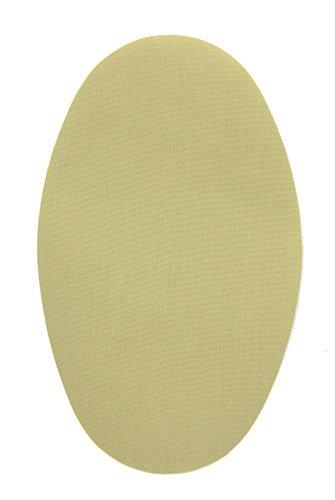 Haberdashery Online 6 Rodilleras Color Beige Oscuro termoadhesivas de Plancha. Coderas para Proteger tu Ropa y reparación de Pantalones, Chaquetas, Jerseys, Camisas. 16 x 10 cm. RP17