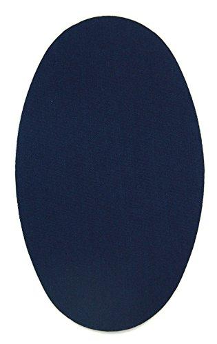 Haberdashery Online 6 Rodilleras Color Marino Claro termoadhesivas de Plancha. Coderas para Proteger tu Ropa y reparación de Pantalones, Chaquetas, Jerseys, Camisas. 16 x 10 cm. RP1C