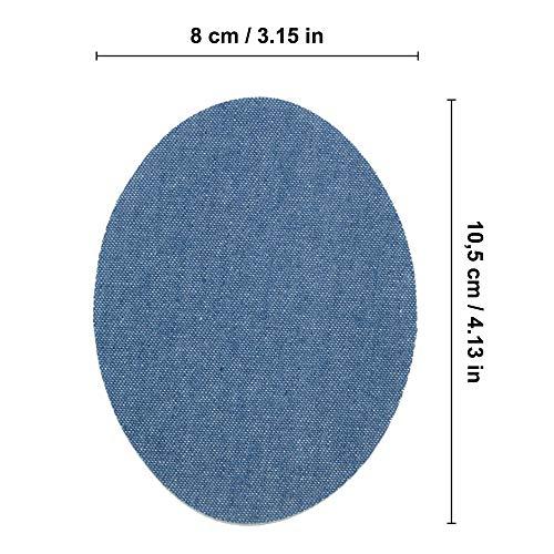 Haberdashery Online 6 rodilleras niños color Naranja termoadhesivas de plancha. Coderas para proteger tu ropa y reparación de pantalones, chaquetas, jerseys, camisas. 10,5 x 8 cm. Ref. 71. Naranja