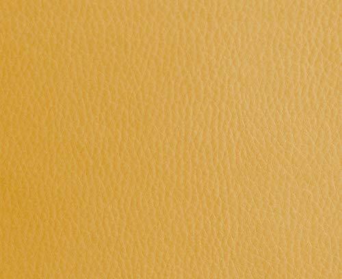 HAPPERS 0,50 Metros de Polipiel para tapizar, Manualidades, Cojines o forrar Objetos. Venta de Polipiel por Metros. Diseño Solar Color Kodak Ancho 140cm