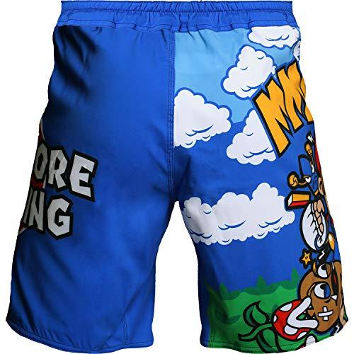 Hardcore Training MMArio Fight Shorts Hombre Pantalones Cortos MMA BJJ Boxeo Grappling Fitness No Gi