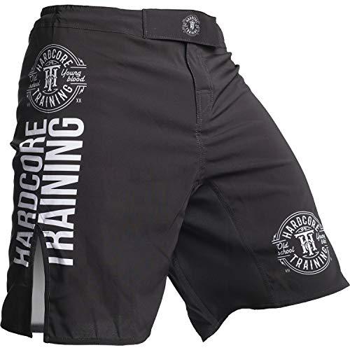 Hardcore Training Recruit Fight Shorts Hombre Pantalones Cortos MMA BJJ Boxeo Grappling Fitness No Gi