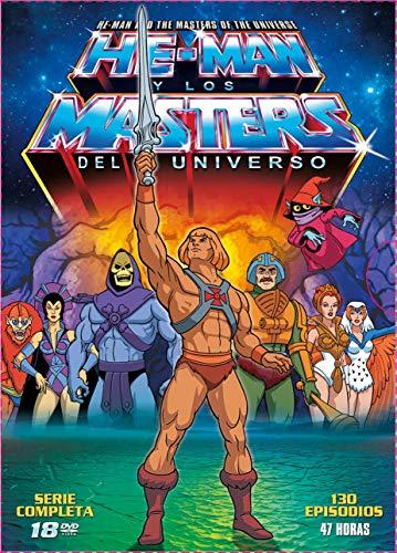 He Man y los Masters del Universo 18 DVDs Temporada 1 y 2 Completas