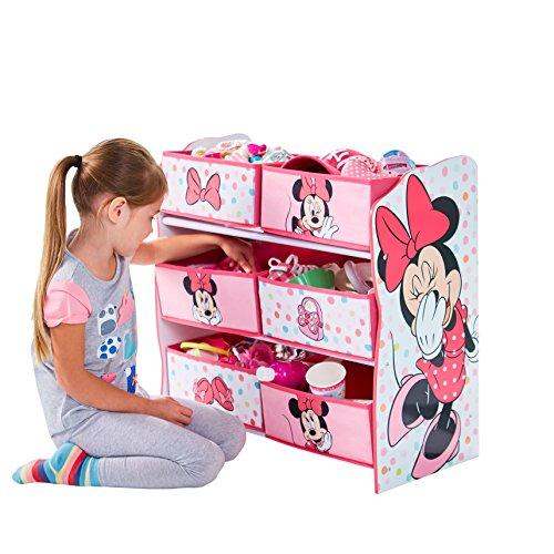 Hello Home Librería Infantil de Estantes Colgantes, Madera, Blanco, 30x63.50x60 cm