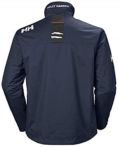 Helly Hansen Crew Midlayer Chaqueta deportiva impermeable, Hombre, Azul (Azul Navy 597), M