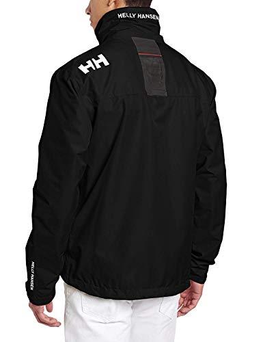 Helly Hansen Crew Midlayer Chaqueta deportiva impermeable, Hombre, Negro (Black 990), M