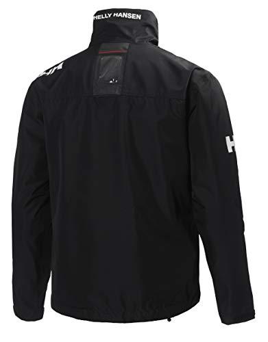 Helly Hansen Crew Midlayer Chaqueta deportiva impermeable, Hombre, Negro (Black 990), XL