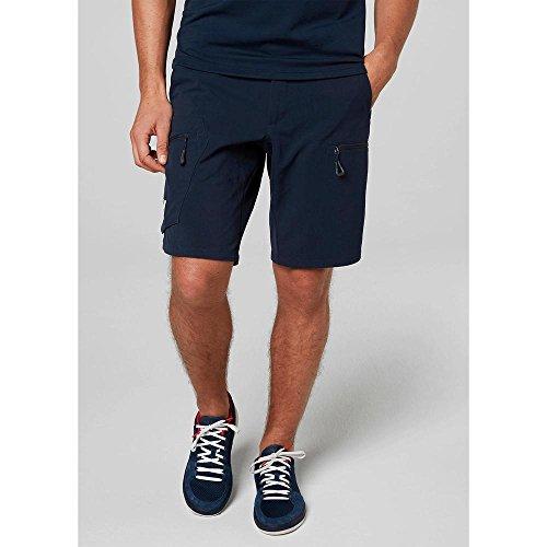 Helly Hansen Crewline Cargo Shorts Pantalones Deportivos, Hombre, Azul (Azul Navy 597), (Tamaño del Fabricante:32)