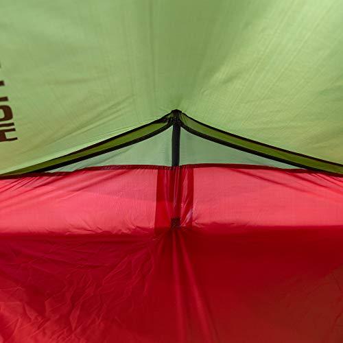 High Peak Siskin Tienda, Unisex, Rojo (Pesto), 230 x 120 x 90/30 cm