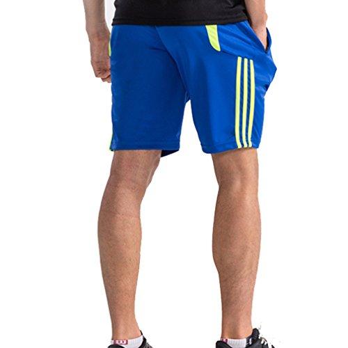 Hombre Pantalón Corto Pantalones Deportivos Fitness Bolsillos Pantalón Corto Deporte Respirable Holgado Shorts Running Shorts Verano Senderismo Escalada Pantalones Cortos