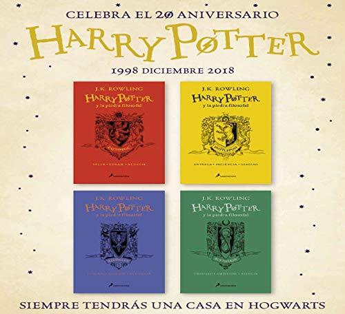 HP y la piedra filosofal-20 aniv-Gryffindor: Valor · Coraje · Audacia: 1 (Harry Potter)