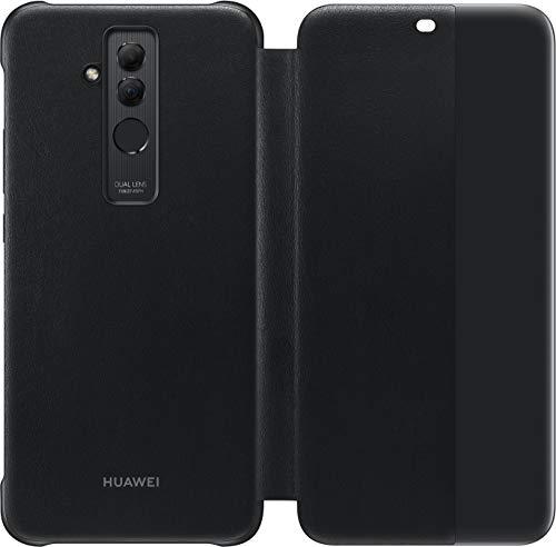 HUAWEI View Cover - Funda para Mate 20 Lite, Color Negro