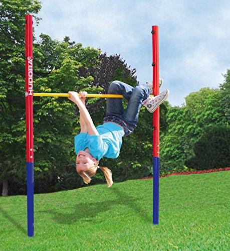 Hudora 64000 - Barra de ejercicios de gimnasia