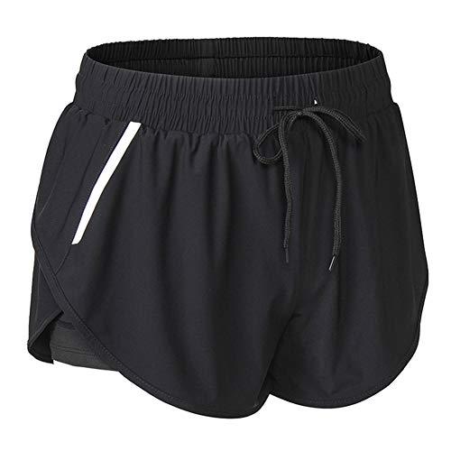 iClosam Pantalones Deportivo Corto Mujer,Pantalón Moda para Deportes Yoga Casual Gimnasio Ejercicio Playa Aire Libre Ocasionales