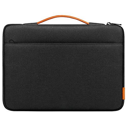 Inateck Funda Compatible con 16 Pulgadas MacBook Pro 2019, MacBook Pro 15 2012-2015, 15 Zoll Surface Book 2/XPS 15, Surface Laptop 3 15, Negro