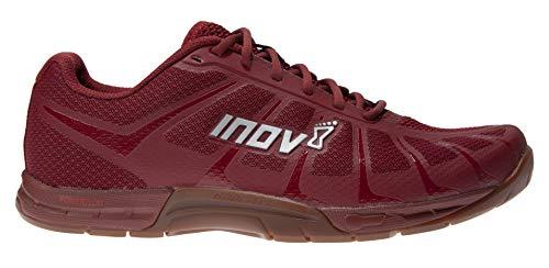 Inov-8 F-Lite 235 V3 - Zapatillas deportivas para hombre (ligeras, flexibles), Rojo (Rojo/Goma de Mascar), 44.5 EU
