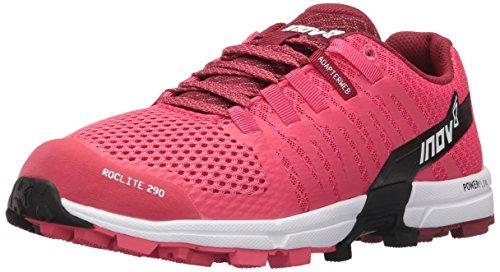 Inov-8 Roclite 290, Zapatillas para Correr en montaña para Mujer, Pink/Black/White, 35.5 EU