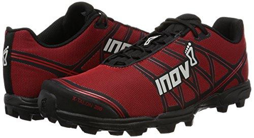 Inov-8 X-Talon 200, Zapatillas para Correr en montaña Unisex-Adulto, Red/Black, 47 EU
