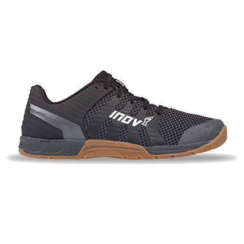 INOV-8 - Zapatillas de punto para mujer, multiusos, ligeras, para trail, correr, crossfit, entrenamiento F-Lite 260, Negro (Negro (Black/gum)), 40 EU