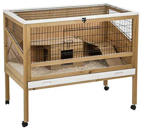 Jaula para animales pequeños Indoor Deluxe 115 x 60 x 92,5 cm