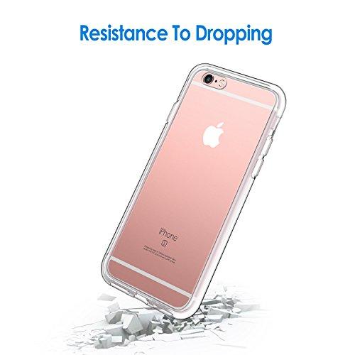 JETech Funda Compatible iPhone 6s Plus y iPhone 6 Plus, Anti-Choques y Anti-Arañazos, HD Clara