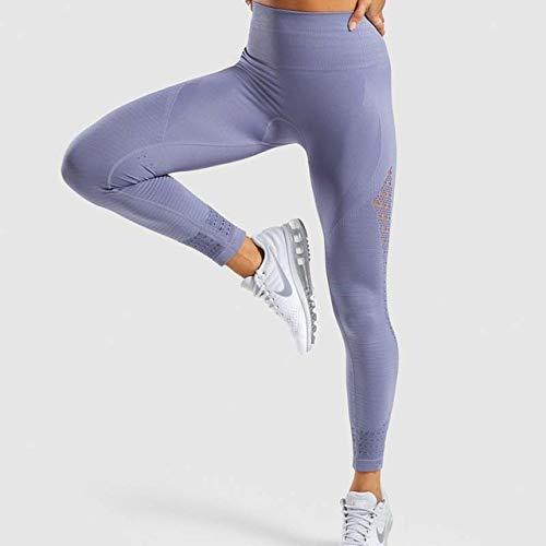 JFCDB Ropa de Yoga,Trajes Deportivos Conjunto de Yoga sin Costuras Ropa de Fitness para Mujer Ropa Deportiva Mujer Leggings de Gimnasia Sujetador Deportivo con Tiras y Push-up Acolchado, pantalón