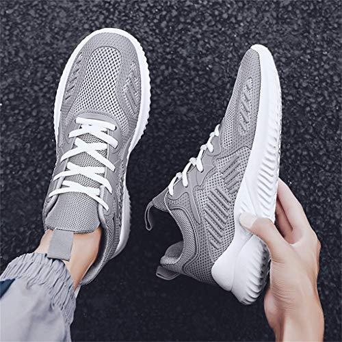 JiaMeng Zapatillas de Running para Hombre Zapatillas para Hombre Zapatillas de Senderismo para Hombre al Aire Libre Fitness Casual Sneakers Invierno