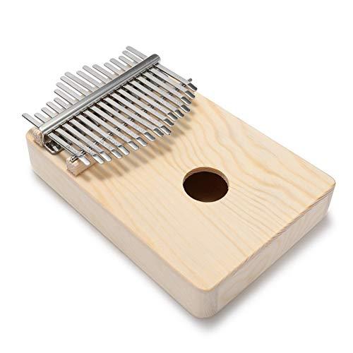 JIANG Pulgar Piano El Simple Montaje Kalimba Trabajo Hecho a Mano DIY Kit de Madera Dedo Pulgar Piano Transparentes Coloridos Kalimba Instrumento de música de los nuevos niños de Regalo